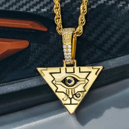 Egyptian Pyramid Eye of Horus Pendant