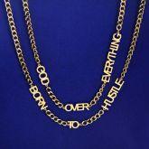 Personalize Custom Letters Cuban Necklace