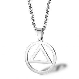 Stainless Steel Fashion Symbol Pendant