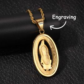 Our Lady of Guadalupe Pendant