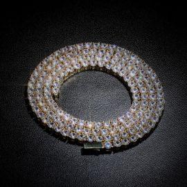 4mm 18K Gold Tennis Chain