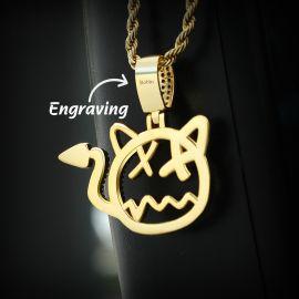 Little Devil Pendant in Gold