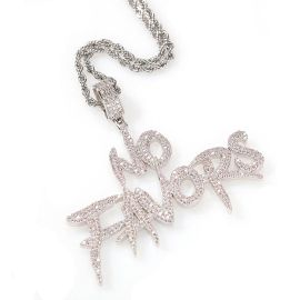 Iced NO FAVORS Pendant
