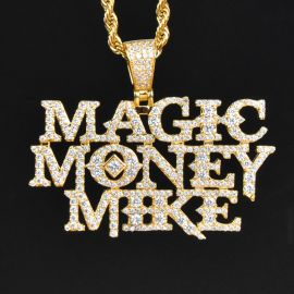 Magic Money Mike Pendant in Yellow Gold