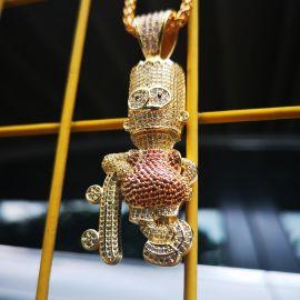Iced Skateboard Boy in Gold