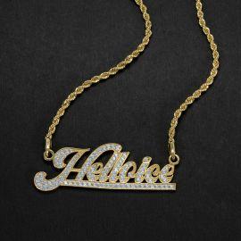 Custom Script Name Necklace