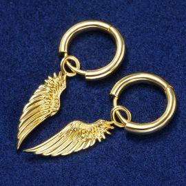 Angel Wings Earrings in Gold