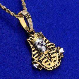 Iced Skeleton Pharaoh in Gold