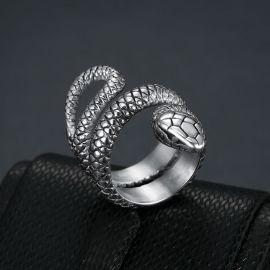 Snake Titanium Steel Ring