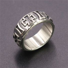 The Iron Cross Stainless Steel Ring