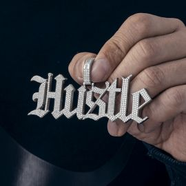 Custom Old English Name Necklace Pendant