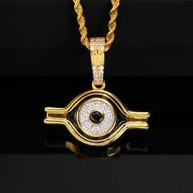 Eye of Horus Pendant in Gold