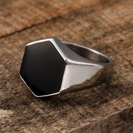 Hexagonal Stainless Steel Ring