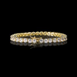 5mm Tennis 18K Gold Bracelet