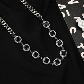 Black Sapphire Cuban Link Chain