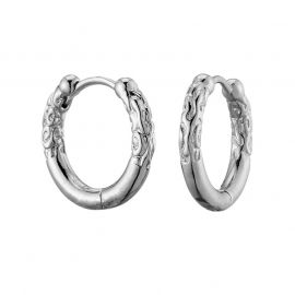 Totem Hoop Earrings
