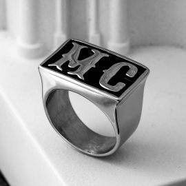MC Biker Stainless Steel Ring